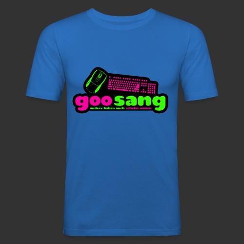 goosang logo - Männer Slim Fit T-Shirt