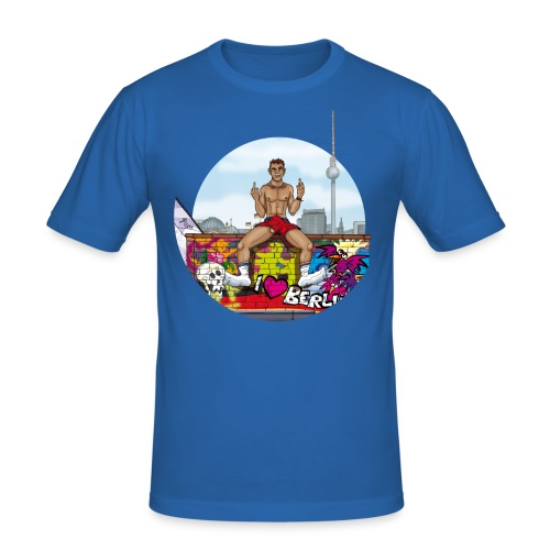 Soxy Berlin - Männer Slim Fit T-Shirt