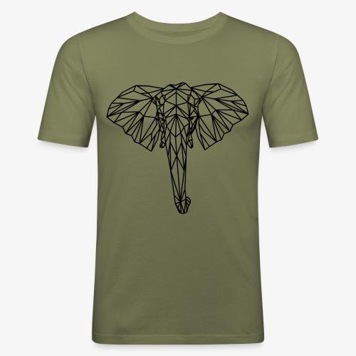 elephant - Maglietta aderente da uomo