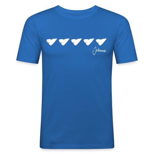 5 heart - Men's Slim Fit T-Shirt