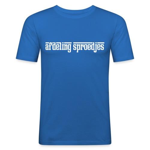 afdeling sproedjes - Mannen slim fit T-shirt