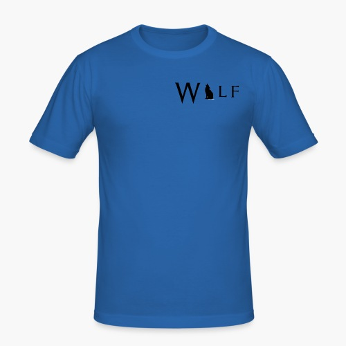 Wolf Howl Wlf - Men's Slim Fit T-Shirt