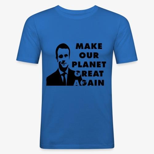 Make our planet great again - T-shirt près du corps Homme