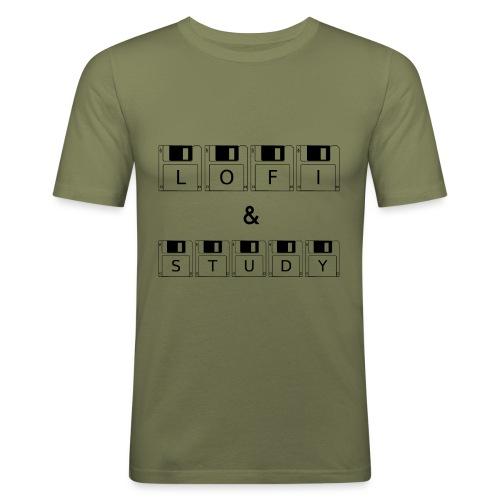 LoFi and Study - Men's Slim Fit T-Shirt