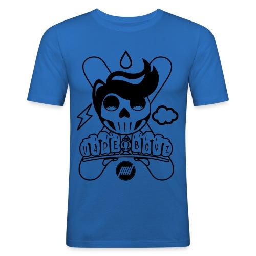 Sugar Skull Vape Boyz - Maglietta aderente da uomo