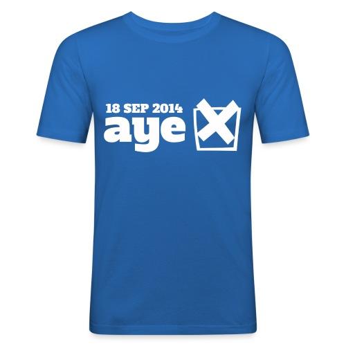 Vote Aye - Men's Slim Fit T-Shirt