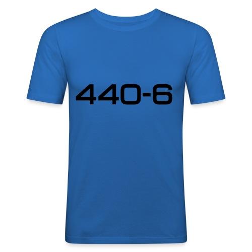 Cuda 440-6 script - Autonaut.com - Men's Slim Fit T-Shirt