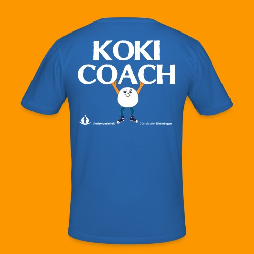 Koki Coach_MK - Männer Slim Fit T-Shirt