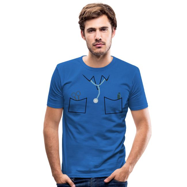 Scrubs tee for doctor and nurse costume