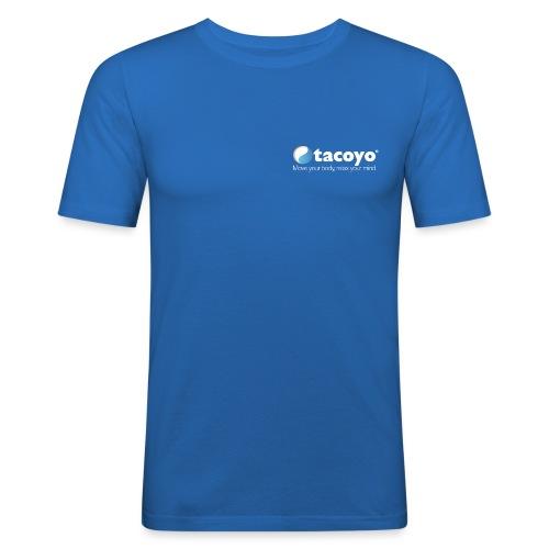 Borstlogo WIT inclusief move your body - slim fit T-shirt