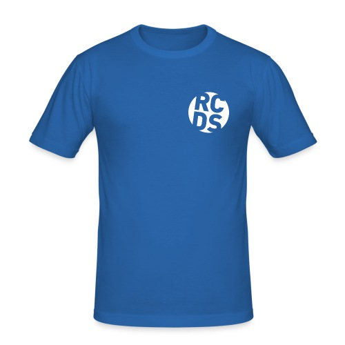 RCDS_negativ.png - Männer Slim Fit T-Shirt