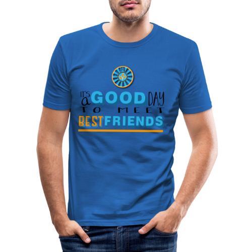 Good Day - Männer Slim Fit T-Shirt