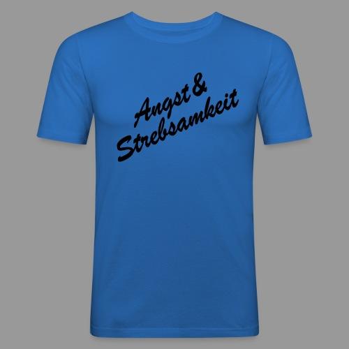 EJK Angst Strebsamkeit png - Männer Slim Fit T-Shirt
