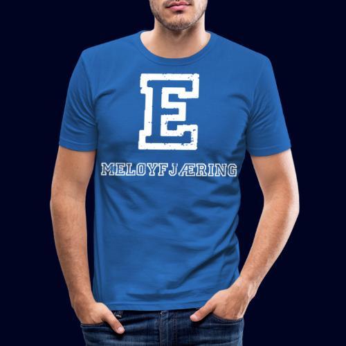 E - Meløyfjæring - Slim Fit T-skjorte for menn