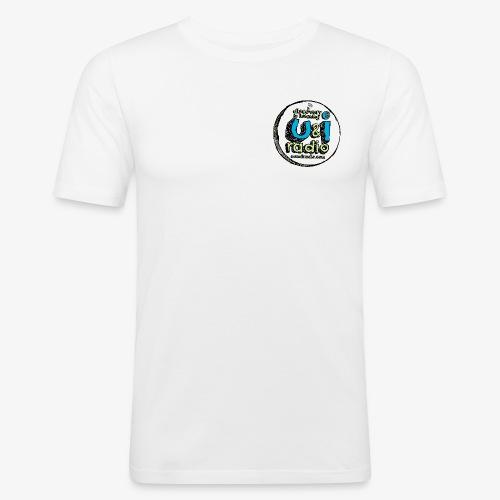 U & I Logo - Men's Slim Fit T-Shirt