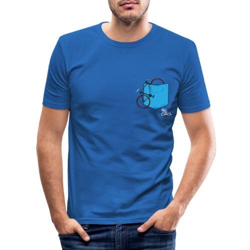 Fahrrad Taschen II - Männer Slim Fit T-Shirt