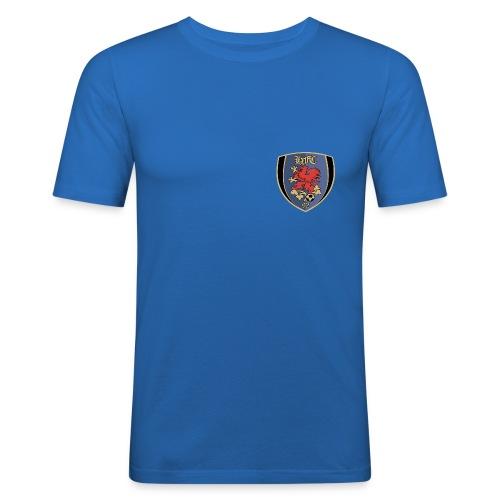 logo hfc 500px - Männer Slim Fit T-Shirt