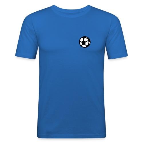 GonzoCalcio logo - Maglietta aderente da uomo