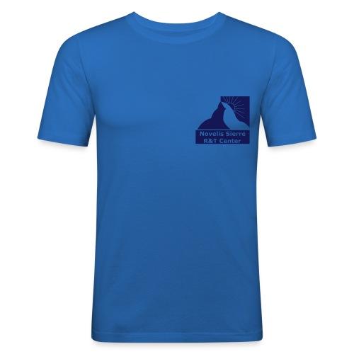 NICS_t4_tot_black_only_re - T-shirt près du corps Homme