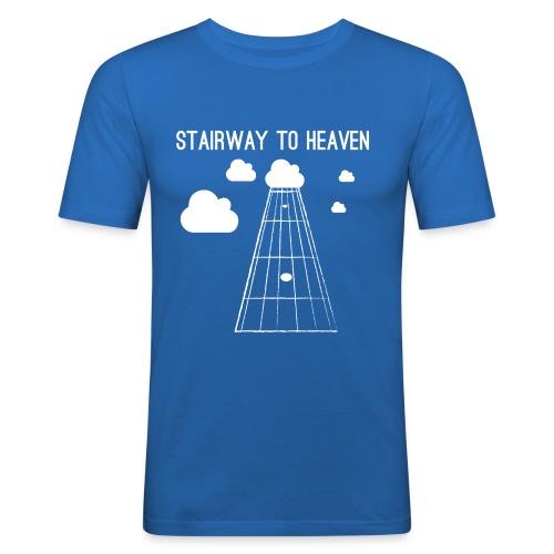 Stairway to heaven - Mannen slim fit T-shirt