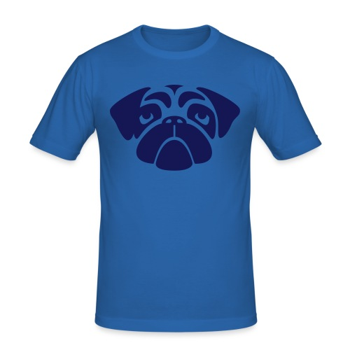 Mops - Männer Slim Fit T-Shirt