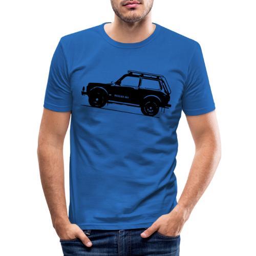 Lada Niva 2121 Russin 4x4 - Männer Slim Fit T-Shirt