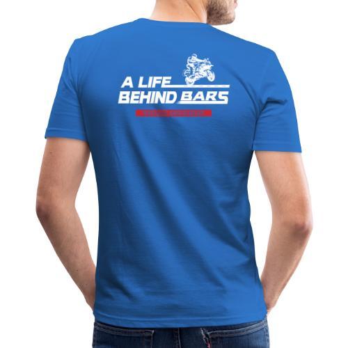 ABT White Graphic - Men's Slim Fit T-Shirt