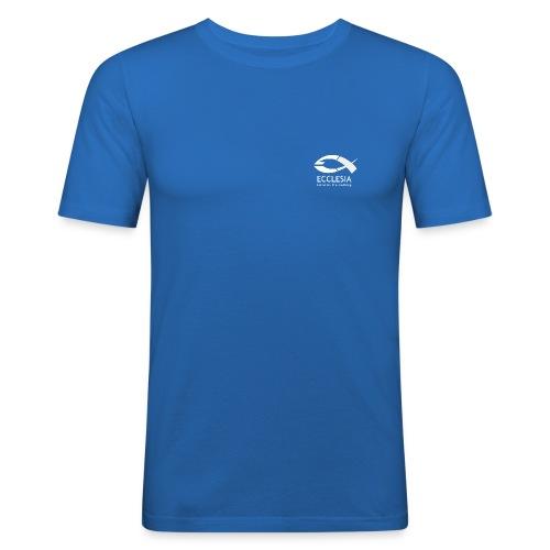 Logo eg bs inv sw eps png - Männer Slim Fit T-Shirt