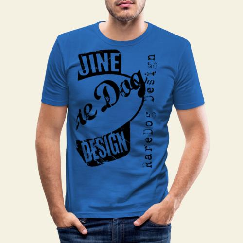 raredog design - Herre Slim Fit T-Shirt