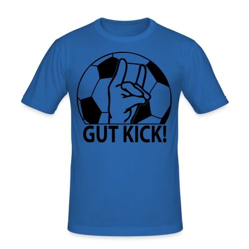 SHOP Gut Kick - Männer Slim Fit T-Shirt