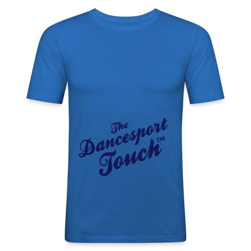 logo dancesporttouch noir - T-shirt près du corps Homme