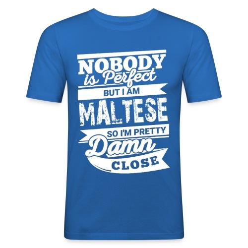 maltese - Slim Fit T-shirt herr