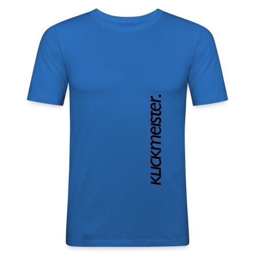 km logo wort vert - Männer Slim Fit T-Shirt