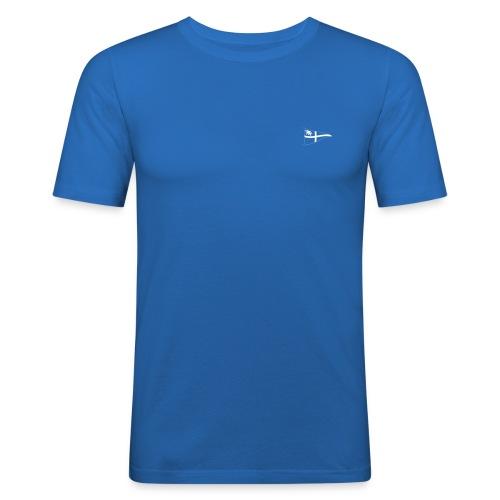 ROYC Logo einfarbig ohne Schriftzug - Männer Slim Fit T-Shirt