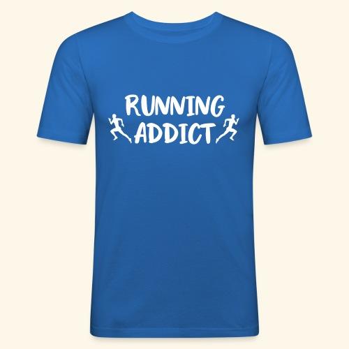 Running Addict Men Männer süchtig nach Laufen - Männer Slim Fit T-Shirt