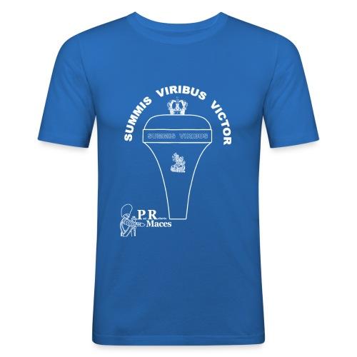 PR NL cavalerie - Mannen slim fit T-shirt