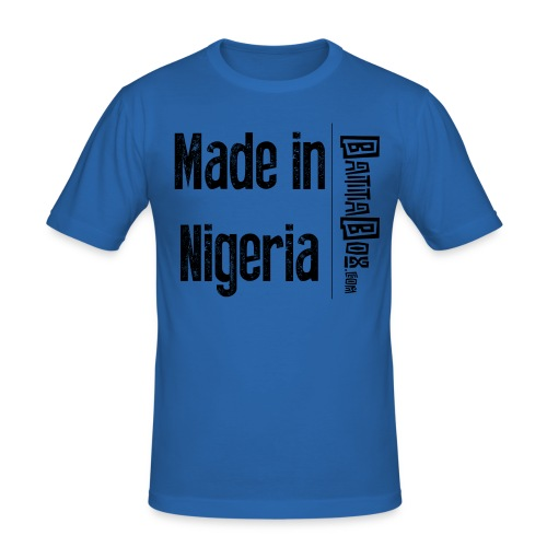 BattaBox Made In Nigeria - Men's Slim Fit T-Shirt