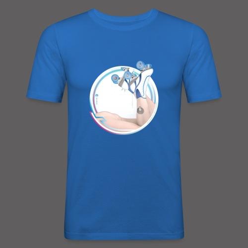 Rollers - Men's Slim Fit T-Shirt