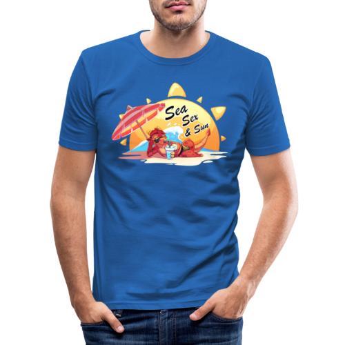 Sea, sex and sun - Men's Slim Fit T-Shirt