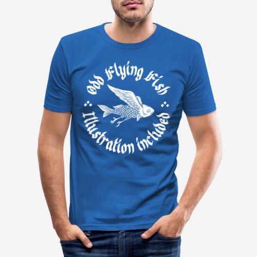 odd flying fish - Männer Slim Fit T-Shirt