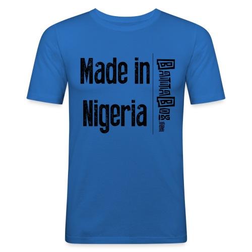 BattaBox Made In Nigeria - Men's Slim Fit T-Shirt