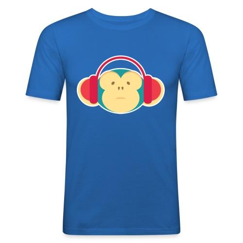 Funky Monkey - Men's Slim Fit T-Shirt