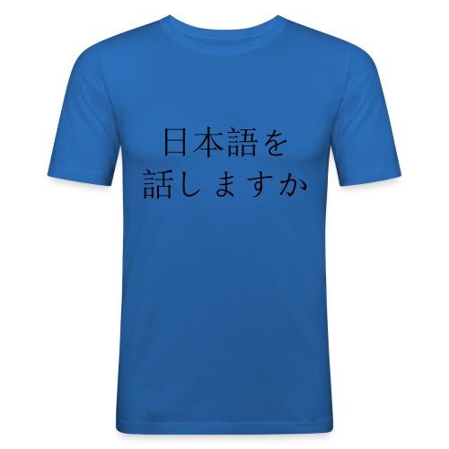 japansk - Slim Fit T-skjorte for menn