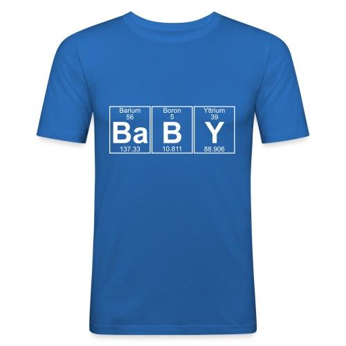 Ba-B-Y (baby) - Full - Men's Slim Fit T-Shirt