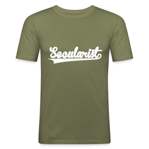nssshirtbaseballgreen - Men's Slim Fit T-Shirt