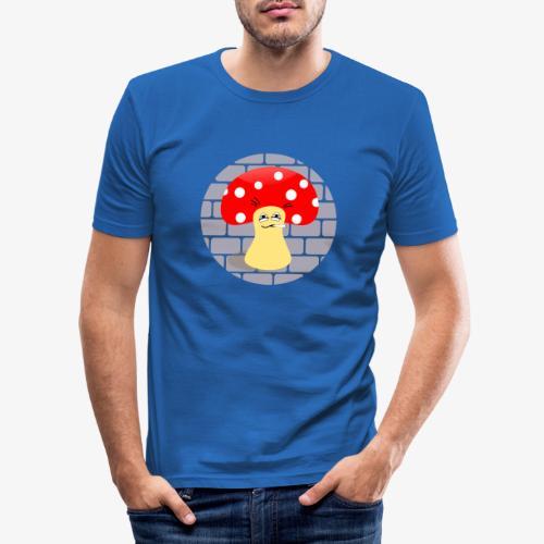 Mr. Magic Mushroom - Men's Slim Fit T-Shirt
