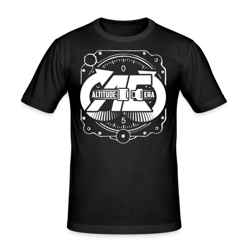 Altitude Era Altimeter Logo - Men's Slim Fit T-Shirt