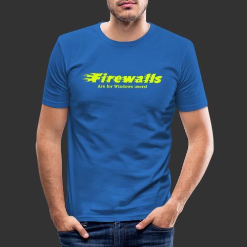 Firewalls - Slim Fit T-shirt herr