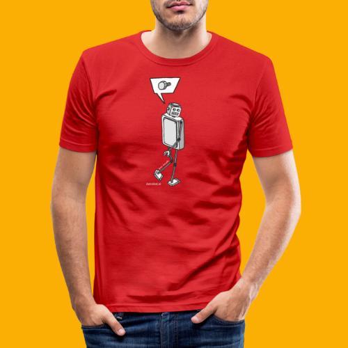 Dat Robot: Nerd Flirt Men - slim fit T-shirt