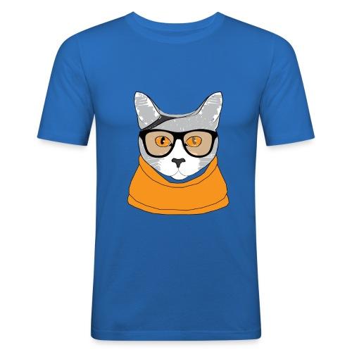 Cat - T-shirt près du corps Homme